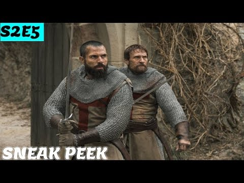 Knightfall S2E5 PROMO Photos 'Road to Chartres' Season 2 Episode 5 Sneak Peek