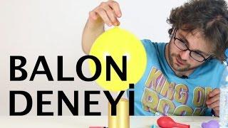 Balonu Aleve Tuttuğum Halde Neden Patlamıyor?