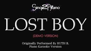 Video Lost Boy (Piano karaoke demo) Ruth B. MP3, 3GP, MP4, WEBM, AVI, FLV Maret 2018