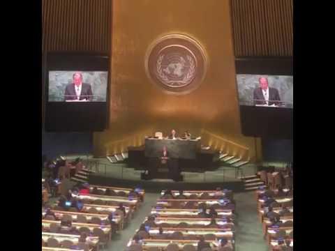 Выступление главы МИД РФ Сергея Лаврова на 71-й Генассамблее ООН (видео)