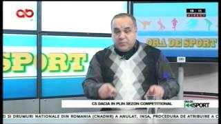 Ora de sport-Constantin Ciobanu, director sportiv CS Dacia Mioveni