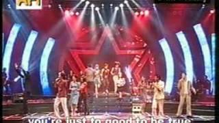 Konser Menuju Bintang AFI 1 Bandung - Can't Take My Eyes Off You (12 Akademia)