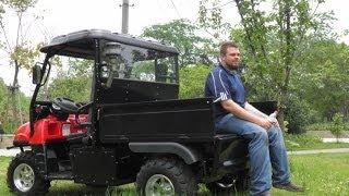8. Diesel UTV FARMBOSS â…¡offroad testing