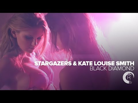 Stargazers & Kate Louise Smith - Black Diamond (Official Music Video) Amsterdam Trance + LYRICS