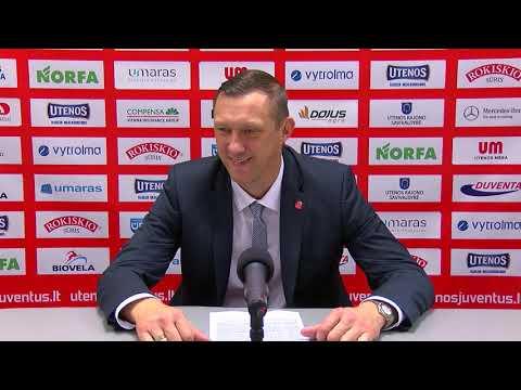 """Karaliaus Mindaugo taurės rungtynių komentarai: """"Neptūnas"""" - """"Neptūnas-Akvaservis"""" [2018-10-16]"""