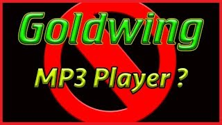 9. Why You Shouldn't Install An MP3 Player On Your Honda Goldwing