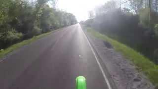 6. Kawasaki kx250f top speed 76mph