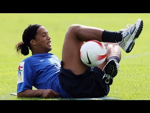 freestyle incredibile di ronaldinho!