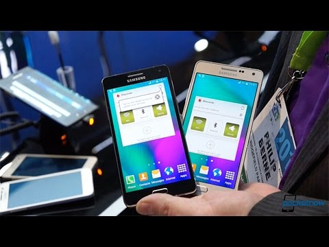 Samsung Galaxy A5 hands-on (CES 2015)