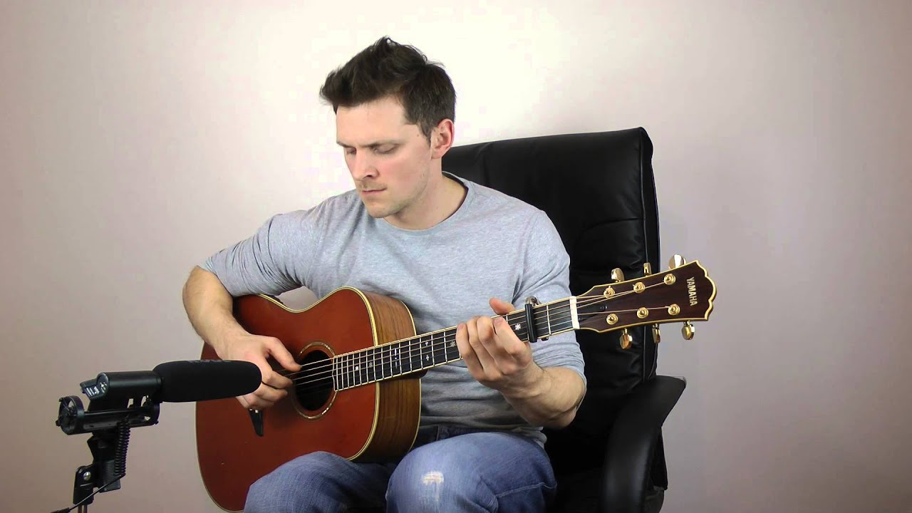 Ed Sheeran – The A Team – Fingerstyle Guitar / Acoustic Interpretation