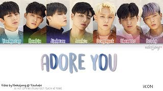 Video iKON (아이콘) – 좋아해요 (ADORE YOU) (Color Coded Lyrics Eng/Rom/Han/가사) MP3, 3GP, MP4, WEBM, AVI, FLV Oktober 2018