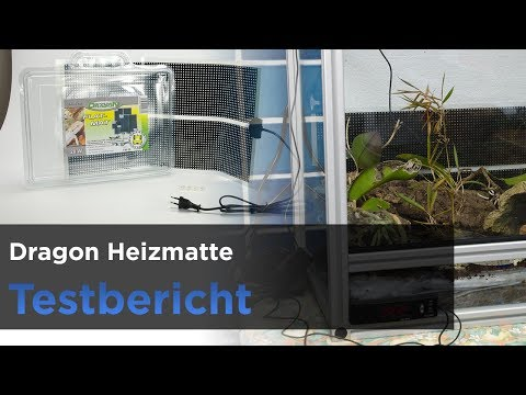 Dragon 28W Heizmatte - Wärme im Terrarium (Terrarium-Serie 04)