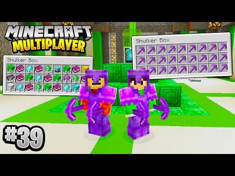 GETTING SUPER RICH in Minecraft Multiplayer Survival! (Episode 39)