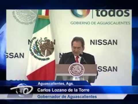 Aguascalientes, Ags.- Complejo Nissan inicia operaciones. Garantiza desarrollo de la entidad.