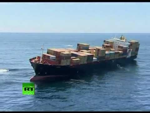 Крушение контейнеровоза возле Новой Зеландии - Центр транспортных стратегий