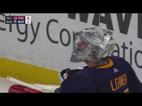 Video: Colorado Avalanche vs Buffalo Sabres | NHL | Feb-11-2018 | 20:00 EST