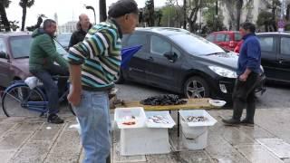 Bari Italy  city photos : The Fish Market in Bari, Italy