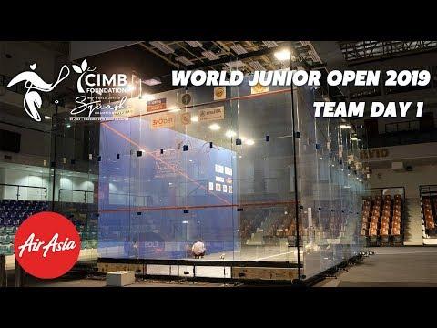 WSF World Junior Open 2019 - Hong Kong v New Zealand Teams Replay