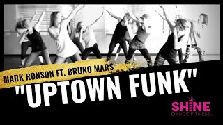 "Uptown Funk"" By Mark Ronson Feat. Bruno Mars. SHiNE DANCE FITNESS - YouTube"