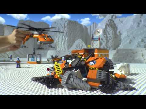 LEGO City - Sarki alaptábor
