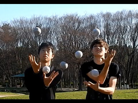 Partner Juggling