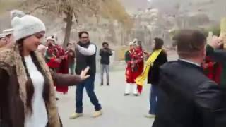 Tourists Dance In Karimabad, Hunza