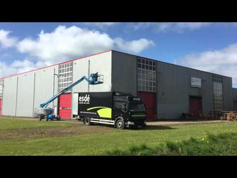 Bedrijfspand reiniging Friesland