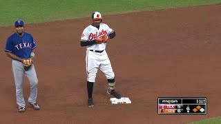 Adam Jones smacks a double down the right-field line to bring home Ruben Tejada and give the Orioles a 6-5 leadCheck out http://MLB.com/video for more!About MLB.com: Former Commissioner Allan H. (Bud) Selig announced on January 19, 2000, that the 30 Major League Club owners voted unanimously to centralize all of Baseball's Internet operations into an independent technology company. Major League Baseball Advanced Media (MLBAM) was formed and charged with developing, building and managing the most comprehensive baseball experience available on the Internet. In August 2002, MLB.com streamed the first-ever live full length MLB game over the Internet when the Texas Rangers and New York Yankees faced off at Yankee Stadium. Since that time, millions of baseball fans around the world have subscribed to MLB.TV, the live video streaming product that airs every game in HD to nearly 400 different devices. MLB.com also provides an array of mobile apps for fans to choose from, including At Bat, the highest-grossing iOS sports app of all-time. MLB.com also provides fans with a stable of Club beat reporters and award-winning national columnists, the largest contingent of baseball reporters under one roof, that deliver over 100 original articles every day. MLB.com also offers extensive historical information and footage, online ticket sales, official baseball merchandise, authenticated memorabilia and collectibles and fantasy games.Major League Baseball consists of 30 teams split between the American and National Leagues. The American League consists of the following teams: Baltimore Orioles; Boston Red Sox; Chicago White Sox; Cleveland Indians; Detroit Tigers; Houston Astros; Kansas City Royals; Los Angeles Angels ; Minnesota Twins; New York Yankees; Oakland Athletics; Seattle Mariners; Tampa Bay Rays; Texas Rangers; and Toronto Blue Jays. The National League, originally founded in 1876, consists of the following teams: Arizona Diamondbacks; Atlanta Braves; Chicago Cubs; Cincinnati Reds; Colorado Rockies; Los Angeles Dodgers; Miami Marlins; Milwaukee Brewers; New York Mets; Philadelphia Phillies; Pittsburgh Pirates; San Diego Padres; San Francisco Giants; St. Louis Cardinals; and Washington Nationals.Visit MLB.com: http://mlb.mlb.comSubscribe to MLB.TV: http://mlb.tvDownload MLB.com At Bat: http://mlb.mlb.com/mobile/atbatDownload MLB.com Ballpark: http://mlb.mlb.com/mobile/attheballparkDownload MLB.com Clubhouse: http://mlb.com/clubhousePlay Beat The Streak: http://mlb.mlb.com/btsGet MLB Tickets: http://mlb.mlb.com/ticketsGet Official MLB Merchandise: http://mlb.mlb.com/shopConnect with us:YouTube: http://youtube.com/MLB Facebook: http://facebook.com/mlbInstagram: http://instagram.com/mlbTwitter: http://twitter.com/mlbPinterest: http://pinterest.com/mlbofficialTumblr: http://mlb.tumblr.comGoogle+: http://plus.google.com/+MLB