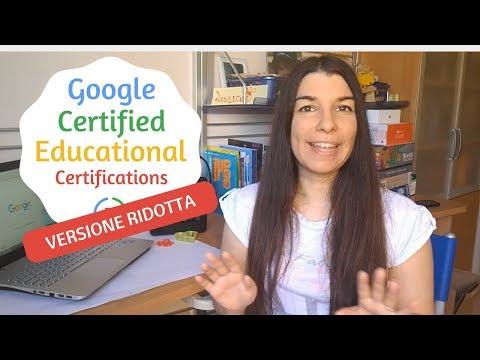 Certificazioni Google for edu (live versione ridotta) видео