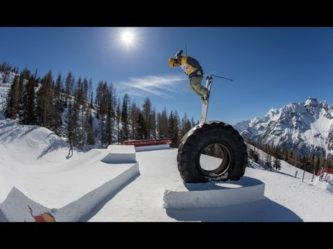 Ski & Snow Contest in Italy - Red Bull Innsnowation 2013 - Part 1