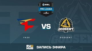 FaZe vs GODSENT - ESL Pro League S6 EU - de_inferno [ceh9, MintGod]