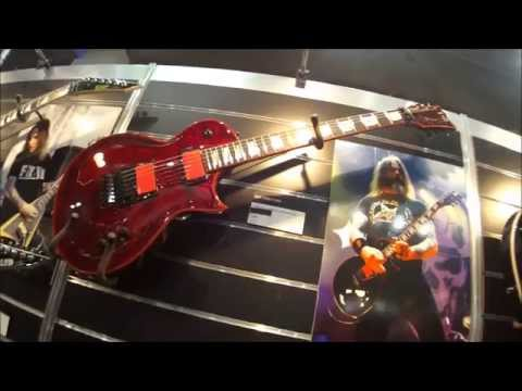 Musikmesse 2015 - ESP Signature guitars new models