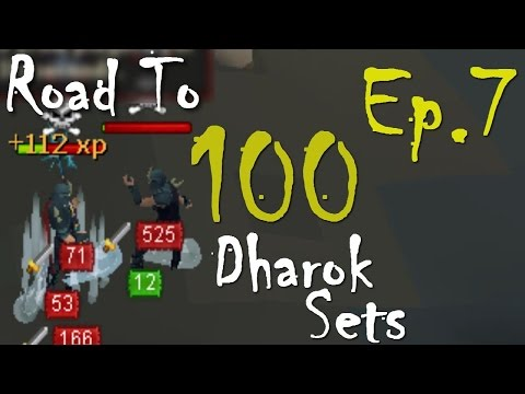 how to repair dharoks armor