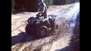 6. ATV Mudding with KingQuad 400FS on Kenda Executioners !!
