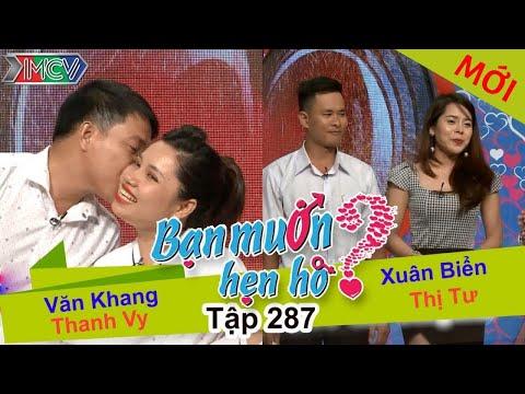 BẠN MUỐN HẸN HÒ Tập 287 FULL Văn Khang Thanh Vy, Xuân Biển Thị Tư
