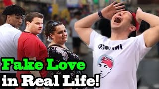 Video BTS - Fake Love - Dramatic Version in Real Life - SINGING IN PUBLIC! MP3, 3GP, MP4, WEBM, AVI, FLV Mei 2018
