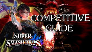 Bayonetta In Depth Moveset and Combo Competitive Guide (Mew2King) – Super Smash Bros. Wii U