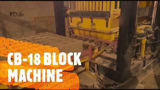 CB-18 Block Making Machine Block Production