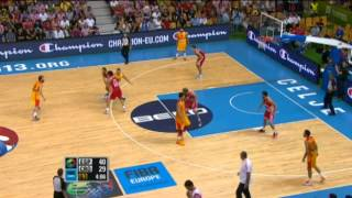 Play of the Game R. Fernandez ESP-CRO EuroBasket 2013