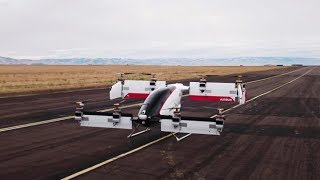 First Flight of Driverless Air Taxi Airbus Vahana