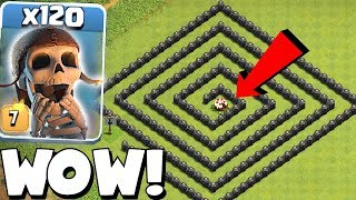 Video CAKE MAZE BASE!! | Clash of clans | 120x WB TROLL!! MP3, 3GP, MP4, WEBM, AVI, FLV Oktober 2017