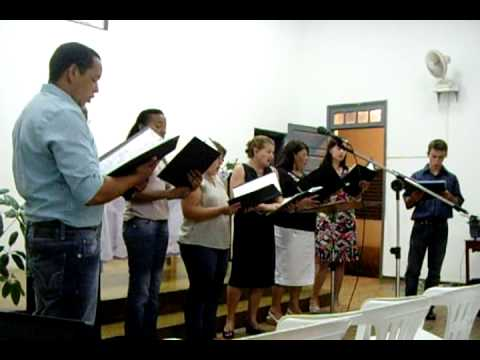Coral Igreja Batista em Lindoia SP