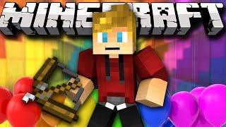 Minecraft PARTY! FazeClan Trickshot! (Minecraft Mario Party Minigame) w/ Lachlan&Friends
