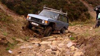 Range Rover Classic Getting Heavy Abuse Off Road - New Tyre Test