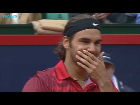 Classic Moment: Roger Federer wins first Masters 1000 title in Hamburg 2002 (видео)