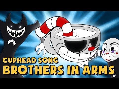 CUPHEAD SONG (BROTHERS IN ARMS) LYRIC VIDEO - DAGames (видео)