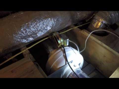 Fantech dbf110 dryer booster fan  Part 1