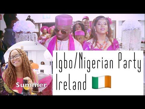 I Cried | Igbo/Nigerian Party In Ireland