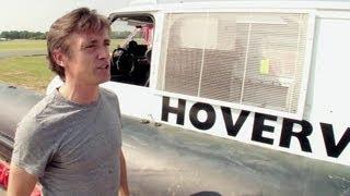 Richard Hammond on the Hovervan - Behind the scenes - Top Gear series 20