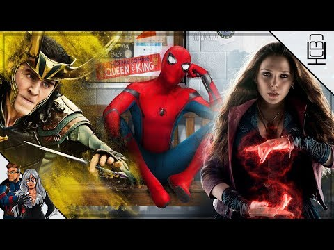 BREAKING NEWS Scarlet Witch, Loki & More TV Series IN DEVELOPMENT